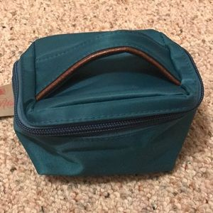Handbags - Small blue Cosmetic pouch